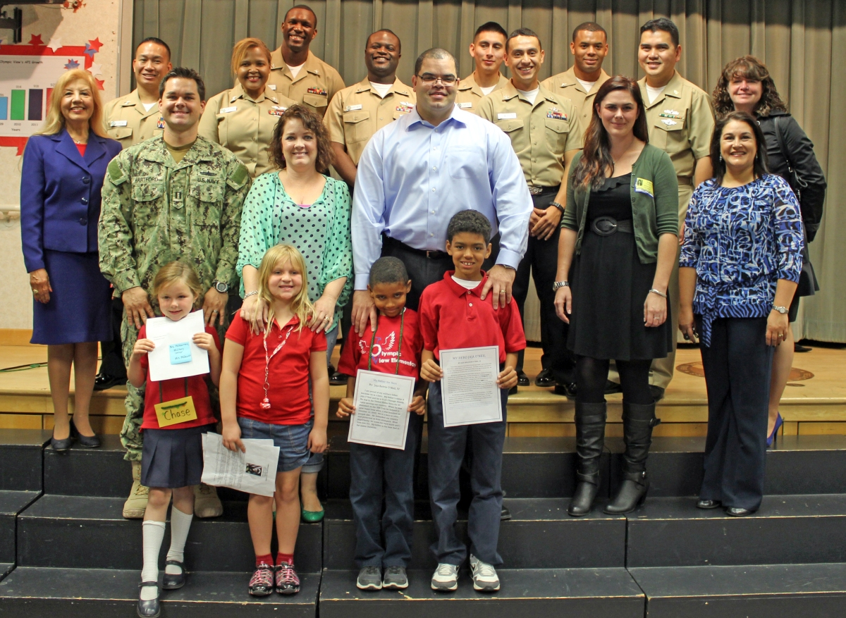 veteran s day chula vista elementary school district veterans honored at olympic view