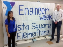 UTC Aerospace Systems' Early Professional Organization helped bring Engineers Week to life at Vista Square.